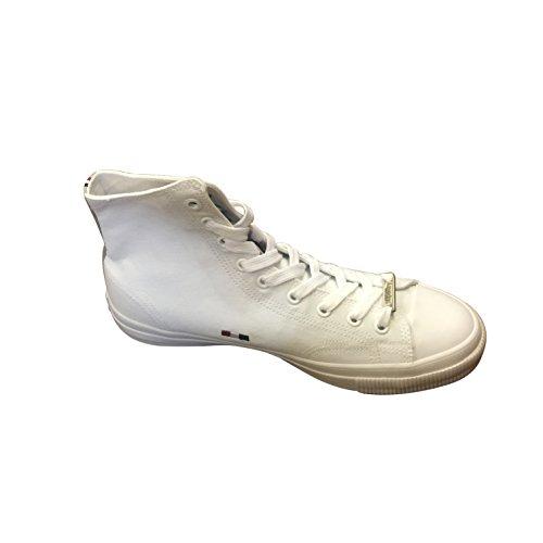 Trofietserie Hoge Sneakers Optisch Wit