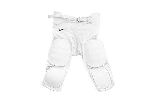 Nike Youth Football Pants (Nike Youth Attack Integrated Padded Football Pants White Medium)