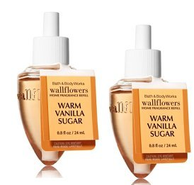 Bath and Body Works Warm Vanilla Sugar Wallflower Fragrance Refill. 2 Pack 0.8 ()