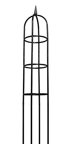 - Gardman R352 Garden Obelisk, Black, 96
