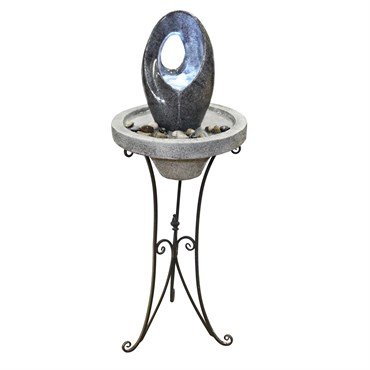 Alpine LOR148 Abstract Fountain with LED Light