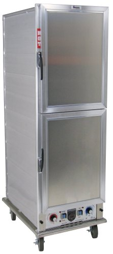- Lockwood CA67-PF34-SDD-R Aluminum Full Height Non-insulated Economy Proofing and Heating Cabinet with Solid Aluminum Dutch Door, 34 Pan Capacity, 22-3/8
