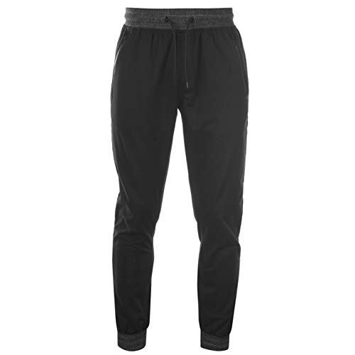 Kangol Boys Skinny Chinos Junior Pants Trousers Bottoms Black M (No Fear Combat Pants)