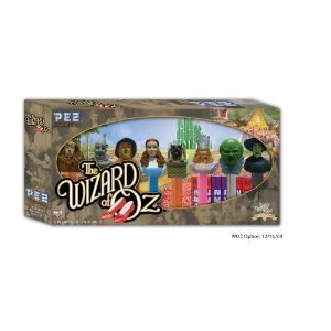 Dorothy Tin Man - PEZ Wizard of Oz Collector's Series Set Includes: Lion, Tinman, Scarecrow, Dorothy, Toto, Glinda, Oz and Wicked Witch
