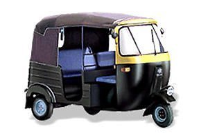 Black Tuk Tuk Bajaj Auto Taxi 3 Wheeler Soft Canopy Roof Top Hood Cover- 17000101