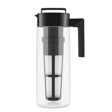 Takeya Flash Chill® Iced Tea Maker (2 Quarts, Black)