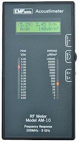 Radio Frequency Meter (Acoustimeter AM-10) measures RF