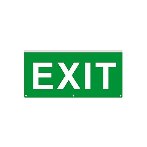 Cartel de Emergencia con Banderola LED Exit efectoLED ...