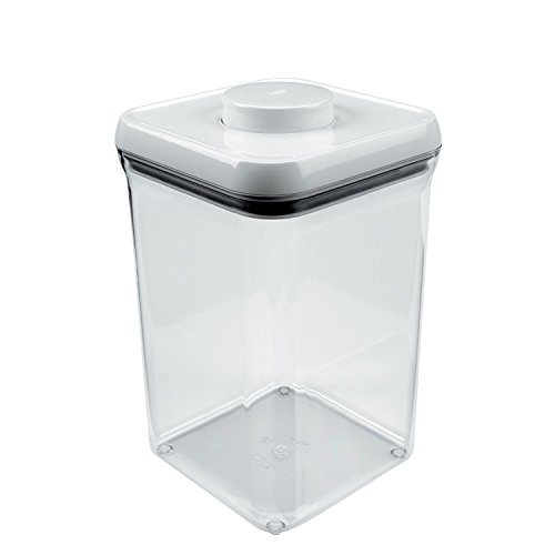 OXO Good Grips POP Container – Airtight Food Storage – 4 Qt for Flour and - Rectangular A Is What Shape
