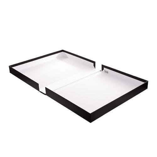 Century Archival 14'' x 18'' Clamshell Print Storage Box, Color: Black, 14 1/2'' x 18 1/2'' x 2'' by Century