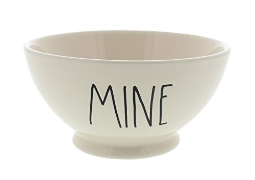 Rae Dunn Magenta Artisan Collection Bowl MINE Black Letters by Rae Dunn
