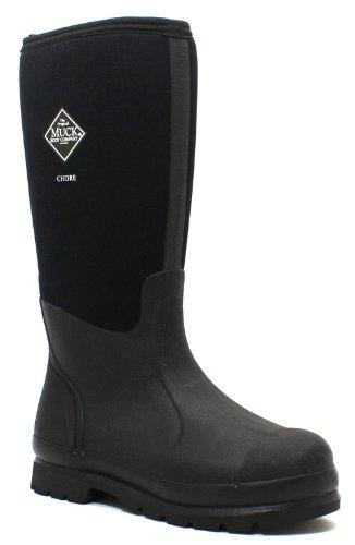 The Original MuckBoots Adult Chore Hi-Cut Boot,Black,Men's 12 M US / Women's 13 M US