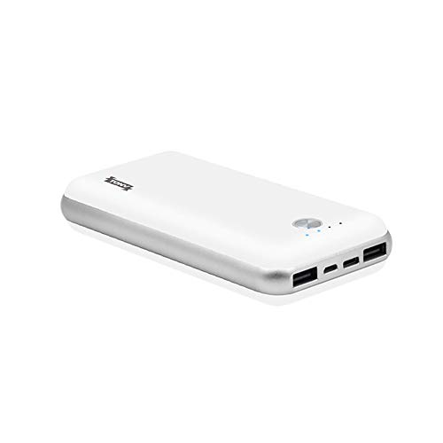 Tonv 20000mah Portable Power Bank with 3 USB Out Port Compatible with iPhone Samsung Huawei one Plus and Nexus 5X or Nexus 6P (White)
