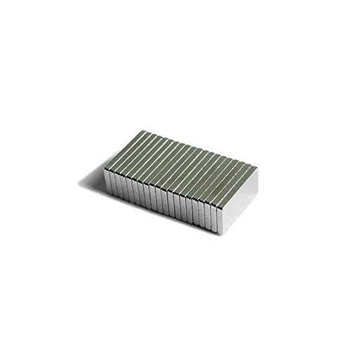 Block 10x5x1mm Magneten Magnet Magnete Neodym N35 Neodymium Magnets