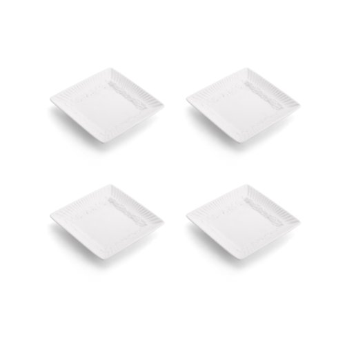 Mikasa Italian Countryside Square Dipping Plates, Set of 4 Italian Countryside Accent Plate
