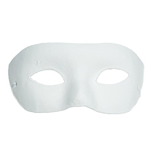 Paper Mache Half Mask ()