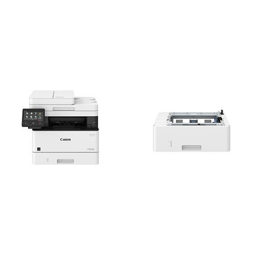 Canon Lasers MF426dw Monochrome Printer with Scanner Copier & Fax with additional paper tray for MF424DW, MF426DW, and (Canon Copy Tray)