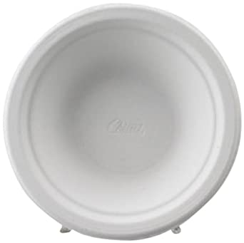 Chinet 21229 Classic White Molded Fiber Bowls, 16 Ounces, White, Round (Case of 1000)