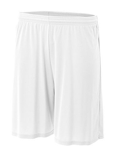 A4 Men's Cooling Performance Short,White,XX-Large