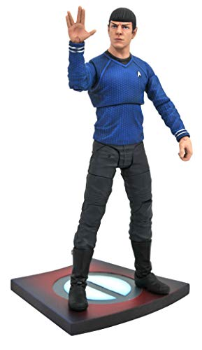 DIAMOND SELECT TOYS Star Trek Movie Select: Spock Action Figure ()