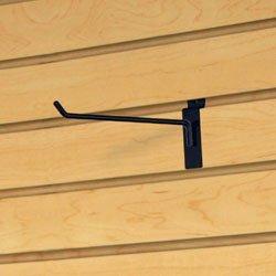 Only Garment Racks Commercial Deluxe Slatwall Hooks, 10