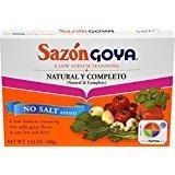 Goya Foods Sazon Natural & Complete, 3.52 oz by Goya