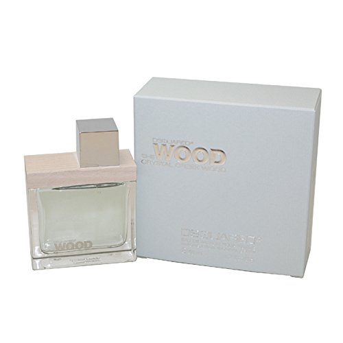 Dsquared2 She Wood Crystal Creek Wood Eau de Parfum Spray for Women, 1.7 Ounce