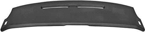 Dashboard Cap Cover for 1984-92 Chevrolet Camaro 1 Piece Plastic Black