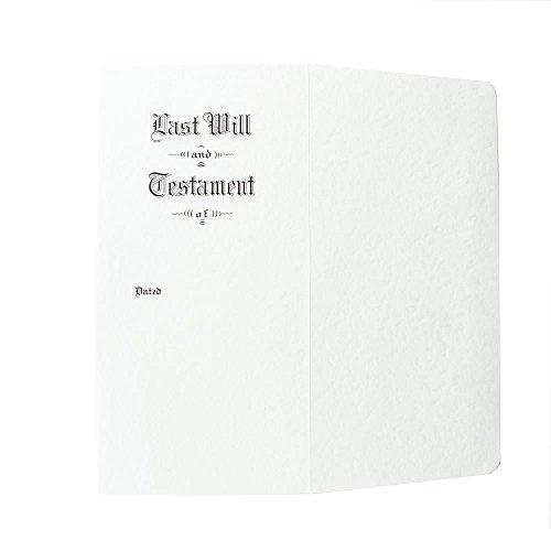 Pebble Finish Last Will & Testament Envelopes, Side Opening, 4 3/4