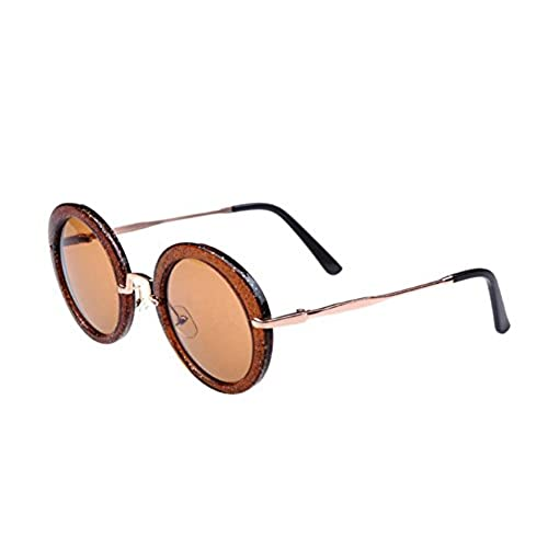 2b779631d6b0 80%OFF Qingsun 2016 Unisex Vintage Small Round Cycling Circle Frame Eyewear  Sunglasses for Women Men Eye Glassed