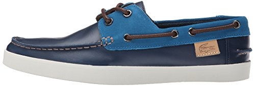 Lacoste Men's Keellson 8 Boat Shoe, Navy Navy/Blue, 13 M US by Lacoste (Image #5)