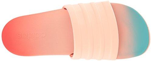 adidas Damen Adilette Cf + Fade W Athletic Sandale Easy Coral Haze Koralle Easy Mint S