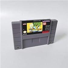 Game card - Game Cartridge 16 Bit SNES , Game Dragon Ball Z - Super Butouden - Action Game Card US Version English Language