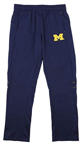 (Outerstuff NCAA Men's Helix Track Pant, Michigan Wolverines Medium )
