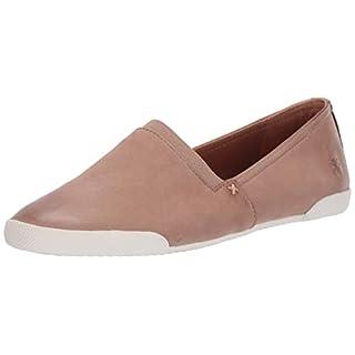 Frye Women's Melanie Slip On Sneaker, Dark Taupe, 9.5 Medium US