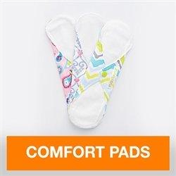 FuzziBunz Comfort Pads - Pack of 3 - Liner