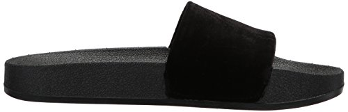 Chooka Womens Mid-height Memory Foam Da Pioggia Di Velluto Nero
