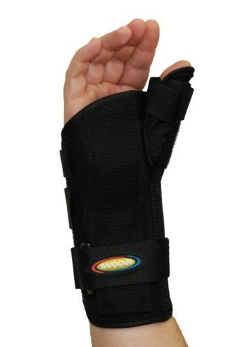 MAXAR WRS-203R Large Wrist Splint with Abducted Thumb Right Hand by ITA-MED CO