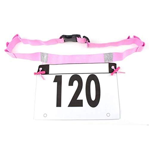 - TT-OUTDO Marathon Race Number Belt with Gel Loops Outdoor Elastic Nylon Marathon Running BIB Waist Card Holder