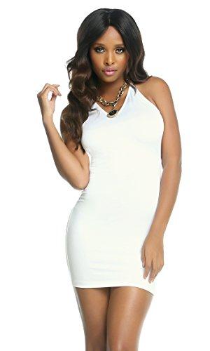 forplay Mujer vestido de cóctel Jaiden blanco