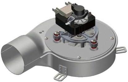 Extractor de humos, estufa, pellet, ventilador + encoder universal, 40 ...