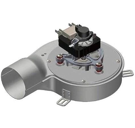 Extractor de humos, estufa, pellet, ventilador + encoder universal ...