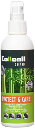 Collonil Organic Protect and Care 200ml - Protects Shoes, Handbags and Clothing - Made With Real Olive Oil - All Natural Ingredients - Environmentally Friendly - Non Toxic