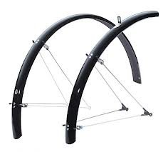 SKS B60 Commuter 2 Bicycle Fender Set (Black, Fits Tire Sizes 26 x 1.6 )