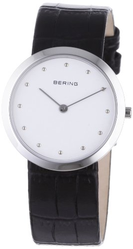 BERING Time 10331-400Women's Classic Collection Watch with Leather Band and scratch resistant sapphire crystal. Designed in Denmark.