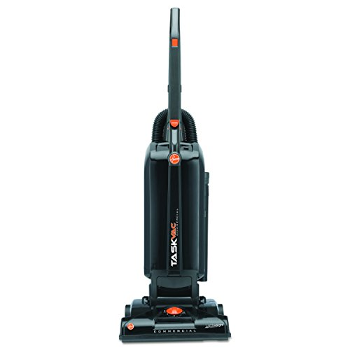 - Hoover Commercial CH53005 TaskVac Hard-Bagged Lightweight Upright Vacuum, 13-Inch