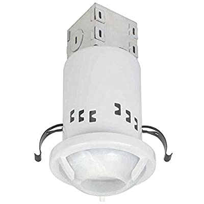 Commercial Electric (10-Pack) 3 in. White Recessed Non-IC Remodel GU10 Lighting Kit
