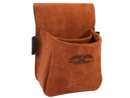 Protektor Model Trap/Skeet Shooters Bag Suede Leather (Best Shotgun For Trap And Skeet)