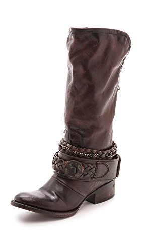 Freebird Women's Brek Western Boot, Black, 8 M US