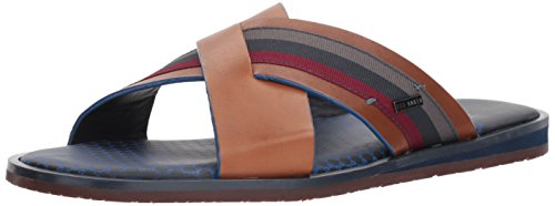 (Ted Baker Men's Farrull Sandal, Tan, 9 D(M) US)